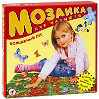 Волшебный лес. Пазл, 24 элемента1718С помощью этой мозаики Вашему ребенку будет намного интереснее изучать лесных животных. Крупные и яркие детали привлекают внимание даже самых маленьких детей. Картинку удобно собирать сидя на полу: большие фрагменты рассчитаны на малышей и не потеряются. Игра развивает зрительное восприятие, мышление и мелкую моторику рук, учит подбирать подходящие по форме фрагменты рисунка и складывать целое изображение, знакомит с лесными животными.