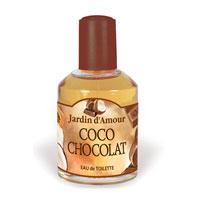 Jardin dAmour Кокос и шоколад. Туалетная вода, 100 мл2001005120Аромат линии Jardin dAmour дарит Вам и Вашему дому атмосферу любви, уюта и отличное настроение. Аромат Кокос и Шоколад - настоящий гормон счастья. Повышает настроение, создает атмосферу веселья и беззаботности, стимулируя при этом умственную активность. В верхних нотах - кокос, составляющий упоительный дуэт с ароматом какао, оттененный нотами свежей сливы и ладана. Особенно подходит для кухни, гостиной. Этот продукт также можно использовать как ароматизатор для машины.