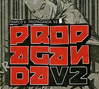 Marco V. Propaganda V2 2009 Audio CD