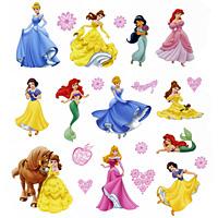 Украшение для стен и предметов интерьера Принцессы DisneyLD 1004Наклейки Decoretto с изображением прекрасных Принцесс Disney помогут создать сказочный интерьер, который будет передавать атмосферу любимых анимационных фильмов и непременно порадует вашего ребенка. Украшение состоит из 22 самоклеющихся элементов с изображениями принцесс, сердечек и цветов. Создайте сказочный мир, полный фантазии и вдохновения с помощью наклеек Decoretto с изображением героев анимационных фильмов Disney! Преимущества украшений Декоретто: изготовлены из экологически безопасной самоклеющейся пленки с водоотталкивающей поверхностью; быстро и легко наклеиваются на обои, крашеные стены, дерево, керамическую плитку, металл, стекло, пластик; при необходимости удобно снимаются, не оставляют следов и не повреждая поверхность (кроме бумажных обоев); специальный слой защищает поверхность от влаги и выгорания. Декоретто - уникальный способ легко и быстро оживить интерьер, добавить в него уют и...
