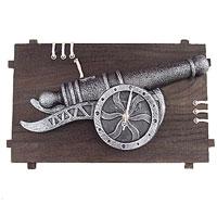 "Часы настенные ""Пушка"", кварцевые, Феникс-Презент"