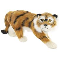 Тигр идущий. T2006k-brT2006k-brТигр - самый крупный зверь из семейства кошачьих и один из крупнейших хищников. Идущий тигр дополнит интерьер вашей комнаты и послужит отличным подарком. Пластиковая фигурка обтянута натуральным мехом. Мех обработан специальным раствором, который предотвращает появление в мехе моли и служит прекрасным антиаллергенным средством.