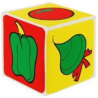 Кубик с пищалкой Мир вокруг тебя. Овощи27076Разноцветный кубик с пищалкой Мир вокруг тебя обязательно понравится Вашему ребенку и в игровой форме познакомит с некоторыми видами овощей. При нажатии на кубик раздается забавный писк. А еще с ним можно поиграть во время купания. Игрушка поможет малышу развить тактильное, звуковое и цветовое восприятия, воображение, координацию движений и мелкую моторику рук.