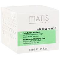Гель Matis регулирующий жирность кожи, 50 мл36535Регулирующий жирность кожи гель Matis - это ежедневный уход за склонной к жирности кожей с усиленным действием против жирного блеска. Сочетание целенаправленных ингредиентов контролирует работу сальных желез, абсорбирующие микро-жемчужинки обеспечивают превосходный матирующий эффект. Cистема MatiSebo, которая сочетает в себе специфические кислоты с экстрактом африканского дерева, способствует регуляции работы сальных желез, сокращает количество активных сальных желез и быстроту созревания себоцитов. Благодаря мягким АНА кислотам избыток кожного сала уменьшается, а его последствия на коже устраняются. Крем-гель сокращает избыток кожного сала, делая кожу необыкновенно мягкой и матовой надолго. Восхитительный свежий, нежирный гель-крем быстро впитывается, оставляя ощущение мягкости и эффект пудры.