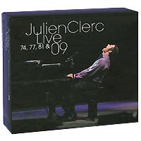 Julien Clerc. Live 74, 77, 81 & 09 (7 CD)