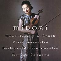 Midori. Mendelssohn / Bruch. Violin Conсertos