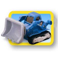 Keenway Бульдозер Construction Truck12116Ну какая игра у мальчиков обходиться без стройки, а какая стройка без трактора с ковшом? Ребенок с удовольствием будет использовать эту игрушку как для простых игр - катания по полу, так и для сюжетно-ролевых игр: обыгрывая каждое событие. Ковш двигается вверх-вниз.