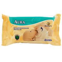 Влажные салфетки для детей Aura, 63 штABW-63FPВлажные салфетки для детей Aura созданы специально для очищения нежной детской кожи. Основные качества влажных салфеток для детей Aura: Нежные салфетки очищают и увлажняют кожу малыша, обладают антисептическими свойствами. Материал салфетки пропитан гипоаллергенным составом, поддерживающим естественный рН баланс кожи ребенка. Не содержат спирта и не вызывают аллергии или раздражения. Незаменимы для ежедневного ухода за кожей ребенка.
