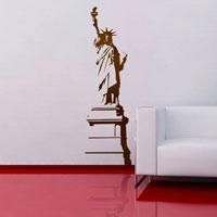 Стикер Paristic Статуя Свободы, 30 х 100 см3377Добавьте оригинальность вашему интерьеру с помощью необычного стикера Статуя Свободы. Изображение на стикере выполнено в виде силуэта знаменитой статуи Свободы. Необыкновенный всплеск эмоций в дизайнерском решении создаст утонченную и изысканную атмосферу не только спальни, гостиной или детской комнаты, но и даже офиса. Стикер выполнен из матового винила - тонкого эластичного материала, который хорошо прилегает к любым гладким и чистым поверхностям, легко моется и держится до семи лет, не оставляя следов. Сегодня виниловые наклейки пользуются большой популярностью среди декораторов по всему миру, а на российском рынке товаров для декорирования интерьеров - являются новинкой. Paristic - это стикеры высокого качества. Художественно выполненные стикеры, создающие эффект обмана зрения, дают необычную возможность использовать в своем интерьере элементы городского пейзажа. Продукция представлена широким ассортиментом - в зависимости от формы...