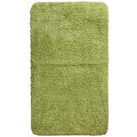 Коврик для ванной комнаты Gobi, цвет: зеленый чай, 70 х 120 см1012430Коврик для ванной комнаты Gobi цвета зеленый чай выполнен из высококачественного полиэстера. Износостойкое волокно длительное время сохраняет первоначальный цвет и внешний вид. Прорезиненная основа коврика позволяет использовать его во влажных помещениях, предотвращает скольжение коврика по гладкой поверхности, а также обеспечивает надежную фиксацию ворса. Фабричная обработка кромки коврика увеличивает срок службы изделия и улучшает его внешний вид. Коврик можно стирать в стиральной машине при температуре 30 °C.