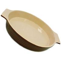 Форма для запекания Duns керамическая. Диаметр 27 смUCW-4315/33Форма для запекания Duns, выполненная из керамики, станет незаменимым помощником у вас на кухне. Основные преимущества керамической формы для запекания Duns: Подходит для использования в микроволновой, конвекционной печи и духовке; Подходит для хранения продуктов в холодильнике и морозильной камере; Устойчива к температурам от -30°С до +220°С; Можно мыть в посудомоечной машине; Идеально подходит для сервировки стола. Характеристики: Материал: керамика. Диаметр (без ручек): 27 см. Высота стенок: 6 см. Производитель: Австрия. Артикул: UCW-4315/33. Керамическая посуда пользуется огромной популярностью во всем мире, и не случайно. Всем известны достоинства этой необыкновенно красивой и практичной посуды. Ведь только керамическая посуда способна обеспечить равномерный нагрев и долгое сохранение температуры. Именно эти качества позволяют придать особый аромат продуктам, сохранить витамины и...