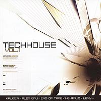 Techhouse. Vol. 1 (2 CD) 2010 Audio CD