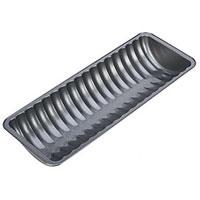 Форма для выпечки хлеба Tescoma полукруглая. 623088623088Форма для выпечки хлеба Tescoma будет отличным выбором для всех любителей домашней выпечки. Особое высокотехнологичное антипригарное покрытие не допустит пригорания хлеба, а также обеспечит легкую очистку после использования. Форма имеет специальную петлю, за которую изделие легко подвесить в удобном месте. С такой формой Вы всегда сможете порадовать своих близких оригинальной выпечкой. Характеристики: Материал: металл с антипригарным покрытием. Размер формы: 30 см х 11 см х 4,5 см. Производитель: Чехия. Артикул: 623088.