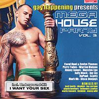 Mega House Party. Vol. 3 (2 CD) 2010 2 Audio CD