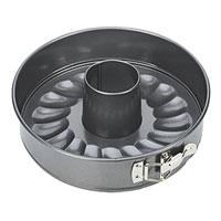 Набор форм для выпечки Tescoma, диаметр 28 см. 623290623290Набор форм для выпечки Tescoma будет отличным выбором для всех любителей тортов и кексов. Особое высокотехнологичное антипригарное покрытие препятствует пригоранию и обеспечивает легкую очистку после использования. Форма легко разбирается и собирается при помощи специального зажима. Из этого набора вы можете собрать форму как для приготовления торта, так и для приготовления кекса. С такой формой Вы всегда сможете порадовать своих близких оригинальной выпечкой. Характеристики: Материал: металл с антипригарным покрытием. Диаметр: 28 см. Высота стенок: 6,5 см. Производитель: Чехия. Артикул: 623290.