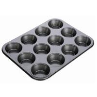 Форма для выпечки Tescoma на 12 пышек. 623222623222Форма для выпечки Tescoma будет отличным выбором для всех любителей домашней выпечки. Форма идеально подойдет для приготовления пышек, мини-кексов, тарталеток и т.д. Особое высокотехнологичное антипригарное покрытие препятствует пригоранию и обеспечивает легкую очистку после использования. Форма имеет специальную петлю, за которую изделие легко подвесить в удобном месте. С такой формой Вы всегда сможете порадовать своих близких оригинальной выпечкой.