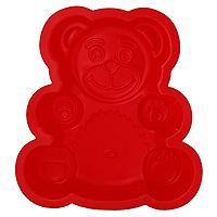 Форма для выпечки Tescoma Delicia Silicone, цвет: красный, 28 х 24 см629316Форма Tescoma Delicia Silicone, выполненная в виде медведя, будет отличным выбором для всех любителей выпечки. Благодаря тому, что форма изготовлена из силикона, готовую выпечку вынимать легко и просто. Форма прекрасно подходит для выпечки пирогов, тортов и других десертов. С такой формой вы всегда сможете порадовать своих близких оригинальной выпечкой. Материал изделия устойчив к фруктовым кислотам, может быть использован в духовках, микроволновых печах, холодильниках и морозильных камерах (выдерживает температуру от -40°C до 230°C). Антипригарные свойства материала позволяют готовить без использования масла. Можно мыть и сушить в посудомоечной машине. При работе с формой используйте кухонный инструмент из силикона - кисти, лопатки, скребки. Не ставьте форму на электрическую конфорку. Не разрезайте выпечку прямо в форме.