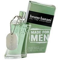 Bruno Banani Made For Men. Туалетная вода, 30 мл0737052274621Bruno Banani Made For Men посвящает свой аромат ироничному отношению к жизни. Расслабляющий, настраивающий на оптимистический лад аромат полон притягательной энергии, рождает уверенность в себе и готовность быть не таким как все. Аромат, трендовый, нетрадиционный, создан, чтобы быть другим, выделяться и дать мужчине шанс выразить свою уникальность. Притягивающая взгляд упаковка, выделяющаяся благодаря своей необычной наклоненной форме и притягательному цвету. Дизайн упаковки: ассиметричная, наклоненная под одинаковым углом с флаконом, нетрадиционной формы. Классификация аромата: ароматический, восточный. Пирамида аромата: Верхние ноты: базилик, анис, лаванда. Ноты сердца: гвоздика, тимьян, гелиотроп, кофе. Ноты шлейфа: ваниль, бобы тонка, экзотические древесные ноты. Ключевые слова: Аромат полон притягательной энергии, дарит чувство уверенности в себе и неповторимости.