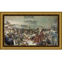 Арт-постер в багете Марфа Посадница (К. В. Лебедев), 24 x 40 см