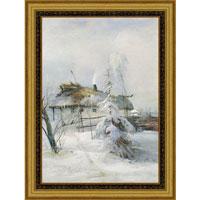 """Арт-постер в багете """"Зима"""" (А.К. Саврасов), 30 x 40 см"""