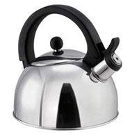 Чайник Perfecta, 1,25 л. 675512675512Чайник Perfecta замечателен для приготовления чая, растворимого кофе и т.п. Чайник изготовлен из первоклассной нержавеющей стали и снабжен свистком, сигнализирующим достижение температуры кипения. Предназначен для всех типов плит - газовых, электрических, стеклокерамических и индукционных. Характеристики: Материал: нержавеющая сталь. Объем: 1,25 л. Высота (без крышки): 10 см. Размер упаковки: 17,5 см х 18 см х 18,5 см. Артикул: 675512. Производитель: Чехия.