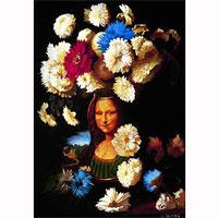 Картина-репродукция без рамки Цветы в честь Леонардо, 1995, 50 х 60 см 1584115841Картина-репродукция Цветы в честь Леонардо, 1995 дополнит интерьер любого помещения, а также может стать изысканным подарком для Ваших друзей и близких. Благодаря оригинальному дизайну картина может использоваться для оформления любых интерьеров, как то: гостиная, спальня, кухня, прихожая, детская или офис. Картина выполнена масляной печатью с ручной подрисовкой. Такая картина - вдохновляющее декоративное решение, привносящее в интерьер нотки творчества и изысканности! Характеристики: Материал: МДФ, холст. Размер: 50 см х 60 см. Изготовитель: Китай. Артикул: 15841.