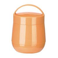 Термос для продуктов Tescoma Family, цвет: оранжевый, 1 л. 310582310582Термос для продуктов Tescoma Family пригодится в любой ситуации: будь то экстремальный поход, пикник или поездка. Корпус термоса выполнен из высококачественного цветного пластика. Колба термоса изготовлена из стекла, которое является экологически чистым материалом и прекрасно держит температуру. Изделие, оснащенное эргономичной ручкой, предназначено для хранения и переноски теплых и холодных блюд. В комплекте поставляется две пластиковые емкости и универсальная крышка. Емкости вкладываются в изоляционную колбу. Они предназначены для продуктов с высоким содержанием жиров, сахара либо кислот, а также блюд, которые тяжело отмываются со стенок стеклянной колбы. Нейтральные продукты можно хранить непосредственно в самой колбе. Термос Tescoma Family - это идеальный вариант для большой компании и дальней поездки. Не рекомендуется мыть в посудомоечной машине. Диаметр термоса (по верхнему краю): 13 см. Высота термоса (без учета крышки):...