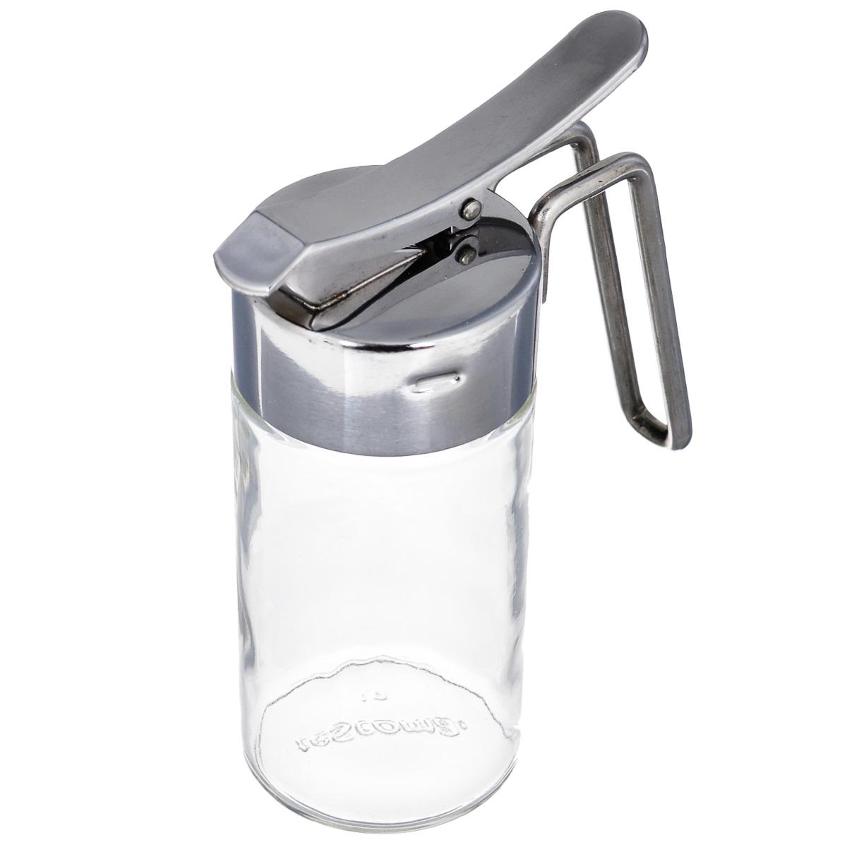 Сливочник Tescoma Club, 150 мл650374Сливочник Tescoma Club изготовлен из первоклассной нержавеющей стали и стекла. Изделие оснащено удобным дозатором и предназначено для сливок, молока или меда. Сливочник прекрасно подходит для сервировки стола, отлично вписывается в интерьер современной кухни, а также будет отличным подарком для любой хозяйки.