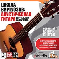 Школа виртуозов: Акустическая гитара. Виртуальный самоучитель