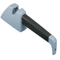 Точилка для ножей Tescoma. 863526863526Точилка Tescoma изделие высшего класса, максимальное внимание уделено замечательному дизайну и превосходному качеству. Такая точилка необходима для поддержания оптимального качества резания ножей. Точилка изготовлена из специальной ножевой керамики и пластика.
