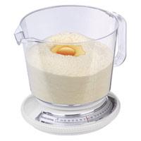 Весы кухонные суммирующие Tescoma634560Кухонные весы Tescoma предназначены для взвешивания продуктов весом до 2,2 кг. Суммирующие, с возможностью последовательного взвешивания нескольких видов продуктов в одной емкости. Снабжены наглядной шкалой с шагом 20 г. Предназначены для использования в домашнем хозяйстве. Пластмассовую чашу можно мыть в посудомоечной машине, весы нельзя. Изделие содержит инструкцию по использованию.