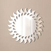 Декоративное зеркало Paristic СолнцеПР01011Добавьте оригинальность вашему интерьеру с помощью необычного фигурного зеркала. Необыкновенный всплеск эмоций в дизайнерском решении создаст утонченную и изысканную атмосферу не только спальни, гостиной или детской комнаты, но и даже офиса. Зеркало выполнено из гибкого органического стекла - более легкого и прочного материала по сравнению с обычным стеклом. Такое зеркало более устойчиво к повреждениям и обеспечивает максимальный визуальный эффект. Сегодня фигурные зеркала пользуются большой популярностью среди декораторов по всему миру, а на российском рынке товаров для декорирования интерьеров - являются новинкой. Замысловатые узоры и самые обычные фигуры - в зеркальном воплощении создают непредсказуемые отражающие эффекты. В коллекции Paristic - авторские работы от урбанистических зарисовок и узнаваемых парижских мотивов до природных и графических объектов. Идеи французских дизайнеров украсят любой интерьер. Paristic - это простой и оригинальный...