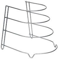 Подставка для сковород Canyon36.20.04/95Подставка для 4 сковород Canyon, выполненная из стали, идеально впишется в интерьер современной кухни. Подставка имеет 4 ножки, которые позволяют надежно установить ее на поверхности стола. Такая подставка идеально впишется в интерьер Вашей кухни, а благодаря своему размеру сэкономит место на Вашем столе. Характеристики: Материал: сталь, окрашенная краской, содержащей эпоксидный порошок. Внутренний диаметр ярусов: 22 см; 20 см; 17,5 см; 15 см. Высота между ярусами: 7,5 см; 6,5 см; 5,5 см. Размер подставки (ГхШхВ): 27 см х 23 см х 24 см. Гарантия производителя: 3 года. Производитель: Италия. Артикул: 36.20.04/95 .