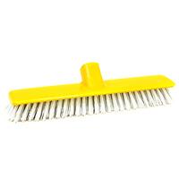 Щетка для чистки ковров Fratelli Re10541-AЩетка-насадка Fratelli Re, являющаяся сменной для швабры, предназначена для чистки ковров, ковровых покрытий. Упругие волоски щетки-насадки не оставят следа от грязи, мелкой пыли, шерсти домашних животных. Оригинальная, современная, удобная щетка, которую можно подобрать к любому интерьеру, сделает уборку эффективнее и приятнее. Характеристики: Материал: пластмасса. Ширина: 27,5 см. Длина ворса: 3 см. Изготовитель: Италия. Артикул: 10541-A.