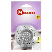 Сито-фильтр для раковины Metaltex29.75.70Сито-фильтр Metaltex имеет специальное углубление для раковины и выполнен из нержавеющей стали. Сито-фильтр поможет предотвратить засорение вашей раковины. Характеристики: Материал: нержавеющая сталь. Диаметр: 7 см. Производитель: Италия. Артикул: 29.75.70.