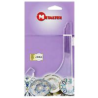 Подставка для тарелок Metaltex, 18-26 см29.91.18Удобная подставка для декоративных тарелок Metaltex выполнена из пластика. На подставке можно разместить тарелку диаметром от 18 до 26 см. Ее можно поставить в любом удобном для вас месте. Такая подставка поможет оригинально украсить интерьер вашей кухни. Характеристики: Материал: пластик. Размер: 16 см х 11 см. Производитель: Италия. Артикул: 20.90.01.