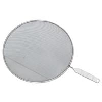 Охранное сито Metaltex, диаметр 29 см. 20.61.2920.61.29Охранное сито Metaltex изготовлено из стали. Сито предназначено для охраны плиты и окружающей обстановки от загрязнения при сильной жарке - положите сито на сковороду и используйте как крышку. Также можно использовать как сито для процеживания, либо как подставку под горячее.