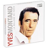 Yves Montand. La Ballade De Paris (4 CD) 2010 4 Audio CD