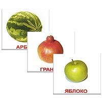 Комплект мини-карточек ФруктыВСПМК-ФруктыЧем меньше ребенок, тем легче он впитывает любые новые для него знания. Родителям важно успеть воспользоваться этим. Комплект Фрукты содержит 20 карточек с изображением разнообразных фруктов и предназначен для занятий с детьми. Этот набор карточек, поможет вашему малышу научиться воспринимать русский язык. На каждой карточке изображения разных видов фруктов, с подписями. Обучение по карточкам стимулирует развитие различных отделов головного мозга, благодаря чему у ребёнка формируется фотографическая память. Карточки способствует развитию речи, пополнению словарного запаса, развитию цветового восприятия, интеллекта, мышления, памяти, скорости реакции. Рекомендуемый возраст от 12 месяцев.