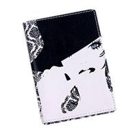 Обложка для паспорта Perfecto Черное и белое. PS-GL-0007PS-GL-0007Обложка для паспорта Черное и белое, выполненная из натуральной кожи, оформлена авторским рисунком. Такая обложка не только поможет сохранить внешний вид ваших документов и защитит их от повреждений, но и станет стильным аксессуаром, идеально подходящим вашему образу. Яркая и оригинальная обложка подчеркнет вашу индивидуальность и изысканный вкус. Обложка для паспорта стильного дизайна может быть достойным и оригинальным подарком.