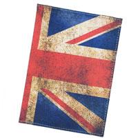 Обложка для паспорта Perfecto United Kingdom. PS-PR-0014PS-PR-0014Обложка для паспорта United Kingdom, выполненная из натуральной кожи, оформлена рисунком с изображением флага Британского королевства. Такая обложка не только поможет сохранить внешний вид ваших документов и защитит их от повреждений, но и станет стильным аксессуаром, идеально подходящим вашему образу. Яркая и оригинальная обложка подчеркнет вашу индивидуальность и изысканный вкус. Обложка для паспорта стильного дизайна может быть достойным и оригинальным подарком.