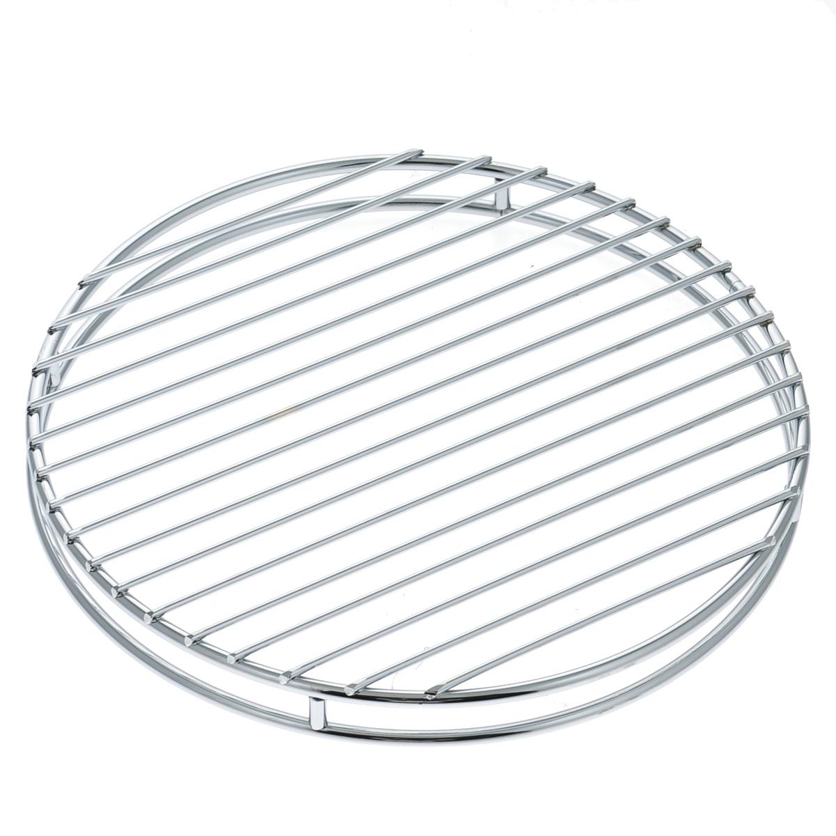 Подставка под горячее Tescoma Monti, диаметр 24 см900063Подставка под горячее Tescoma Monti выполнена из нержавеющей стали с хромовым покрытием. Благодаря стильному дизайну идеально впишется в интерьер современной кухни. Каждая хозяйка знает, что подставка под горячее - это незаменимый и очень полезный аксессуар на каждой кухне. Ваш стол будет не только украшен оригинальной подставкой, но и сбережен от воздействия высоких температур ваших кулинарных шедевров.