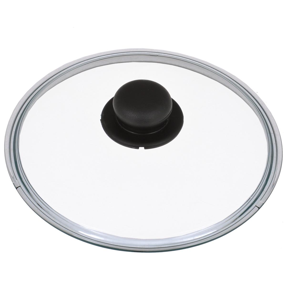 Крышка стеклянная Tescoma Unicover. Диаметр 24 см619024