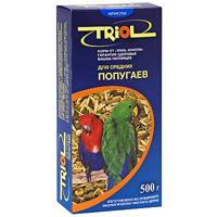 """Корм для средних попугаев """"Triol"""", 500 г ( Кф-00300 )"""