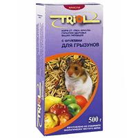 """Корм для грызунов """"Triol"""", с фруктами, 500 г ( Кф-00700 )"""