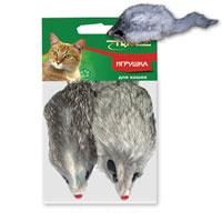 Игрушка для кошек Triol Мышь, 2 штЧ-08000Забавная мышка яркого цвета из натурального меха, не позволит скучать вашему любимцу. Играя с этой забавной игрушкой, маленькие котята развиваются физически, а взрослые кошки и коты поддерживают свой мышечный тонус. Мышка сразу привлечет внимание вашего любимца, не навредит здоровью, и увлечет его на долгое время. Характеристики: Длина мышки (без хвоста): 10 см. Материал: натуральный мех, пластик. Артикул: M004NG. Уважаемые клиенты! Обращаем ваше внимание, товар поставляется в цветовом ассортименте. Уважаемые клиенты! Обращаем ваше внимание на возможные изменения в дизайне упаковки.