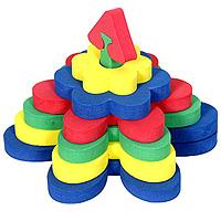 Бомик Мягкий конструктор Ромашка321Мягкий объемный конструктор-пирамидка Ромашка привлечет внимание малыша и не позволит ему скучать. Элементы конструктора выполнены из мягкого, эластичного, прочного материала, который обеспечивает большую долговечность и является абсолютно безопасным для детей. Учиться играя намного проще и интереснее, с яркой разноцветной пирамидкой ваш малыш без труда выучит основные цвета и формы. Мягкий конструктор разовьет у ребенка память, воображение, моторику, пространственное и логическое мышление. Порадуйте его таким замечательным подарком!