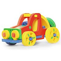 Бомик Мягкий конструктор Автомобиль357Мягкий объемный конструктор Автомобиль привлечет внимание малыша и не позволит ему скучать. Элементы конструктора выполнены из мягкого, эластичного, прочного материала, который обеспечивает большую долговечность и является абсолютно безопасным для детей. Мягкий конструктор разовьет у ребенка память, воображение, моторику, пространственное и логическое мышление. Порадуйте его таким замечательным подарком!