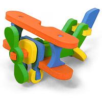 Бомик Мягкий конструктор Самолет353Мягкий объемный конструктор Самолет привлечет внимание малыша и не позволит ему скучать. Элементы конструктора выполнены из мягкого, эластичного, прочного материала, который обеспечивает большую долговечность и является абсолютно безопасным для детей. Мягкий конструктор разовьет у ребенка память, воображение, моторику, пространственное и логическое мышление. Порадуйте его таким замечательным подарком!