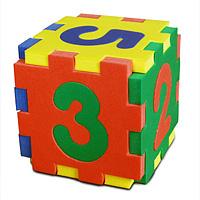 Бомик Мягкий конструктор Кубик-цифры502Мягкий конструктор Кубик-цифры привлечет внимание малыша и не позволит ему скучать. Элементы конструктора выполнены из мягкого, эластичного, прочного материала, который обеспечивает большую долговечность и является абсолютно безопасным для детей. Учиться играя намного проще и интереснее, с ярким разноцветным кубиком ваш малыш без труда выучит основные цвета и цифры от 1 до 6. Мягкий конструктор разовьет у ребенка память, воображение, моторику, пространственное и логическое мышление. Порадуйте его таким замечательным подарком!
